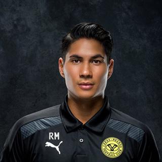 Ceres Negros FC Goal Keeper Roland Muller