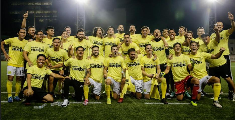 Ceres Negros pfl champions 2018