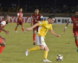 blake powell 2 ceres negros home united afc cup 2018 august