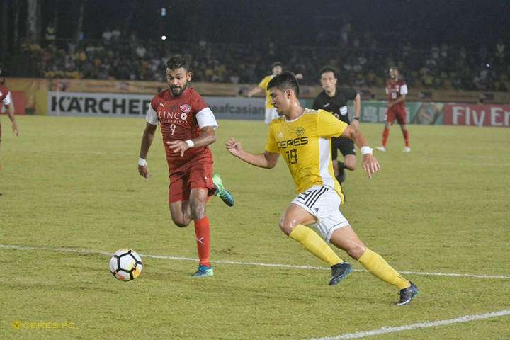 ceres negros home united afc cup 2018 august 1